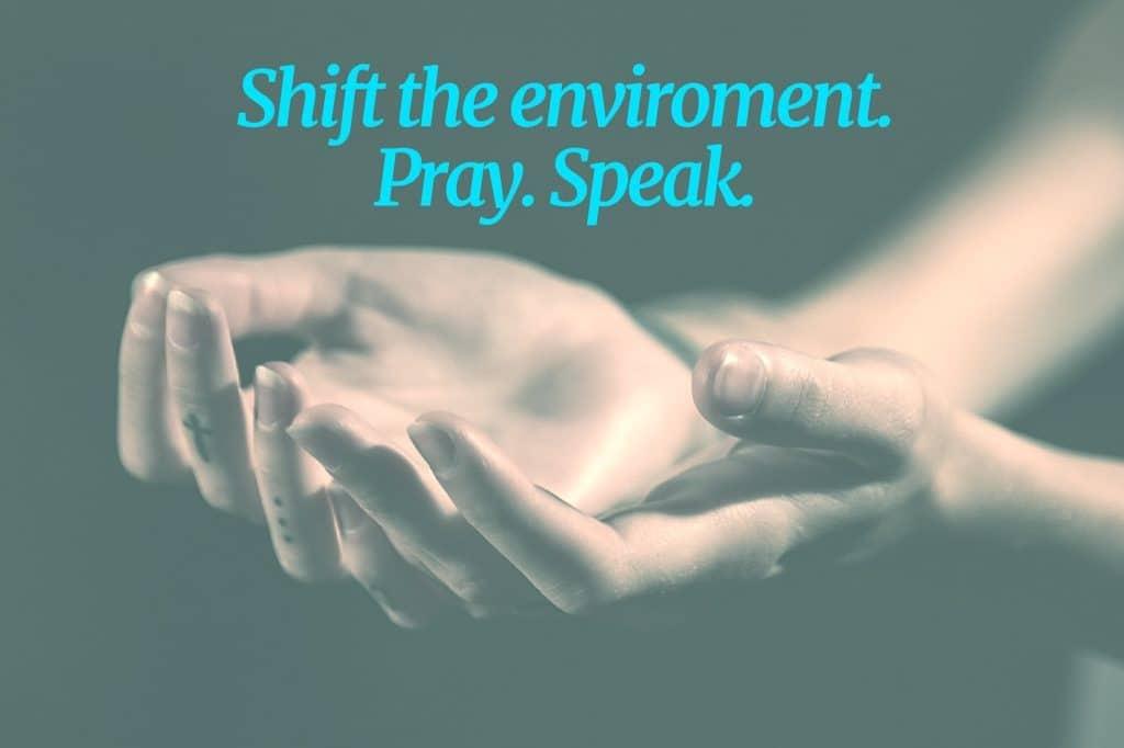 shift the environment
